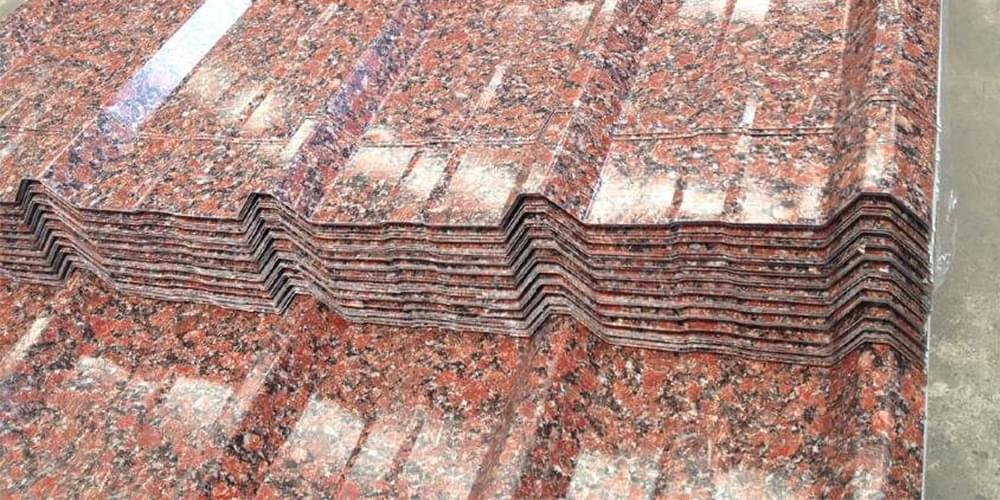 阿根廷红花岗岩彩钢瓦