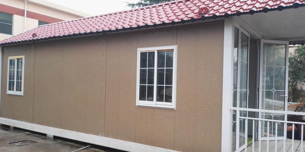 花岗岩夹芯板集成房屋