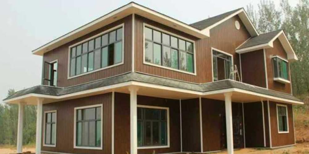 木纹彩涂钢板之钢结构
