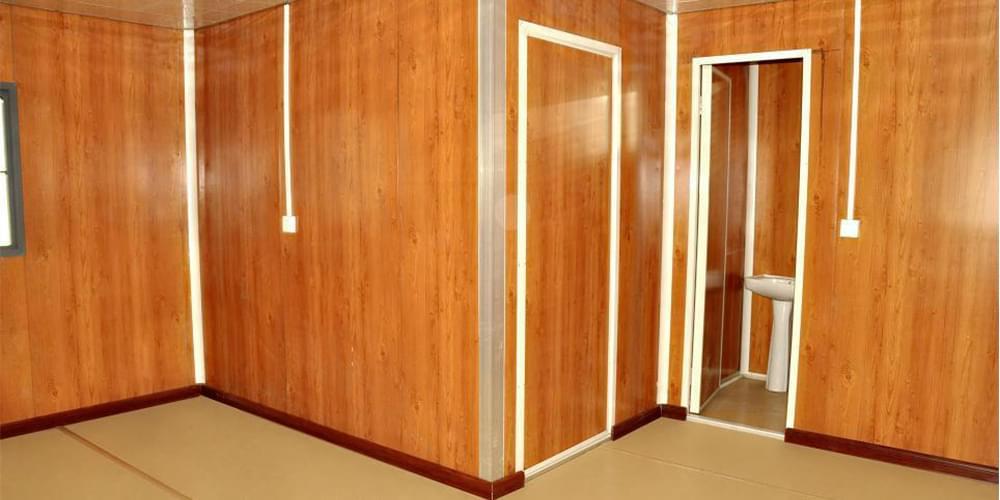 木纹彩涂钢板内墙装饰