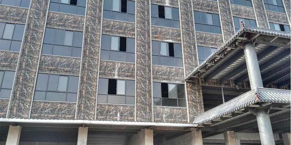 大理石钢板外墙装饰