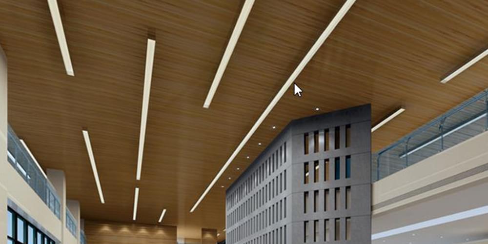 彩铝板应用-室内天花