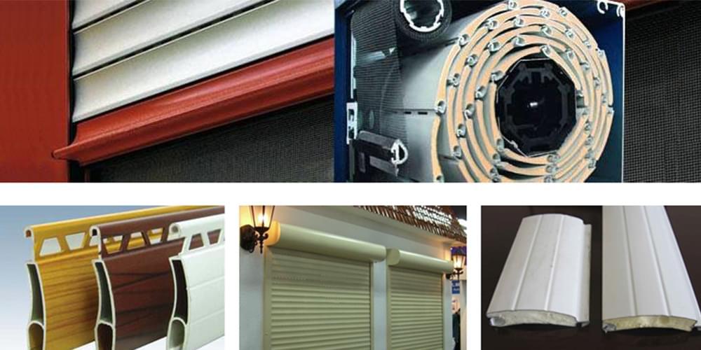 彩铝板应用-卷帘门