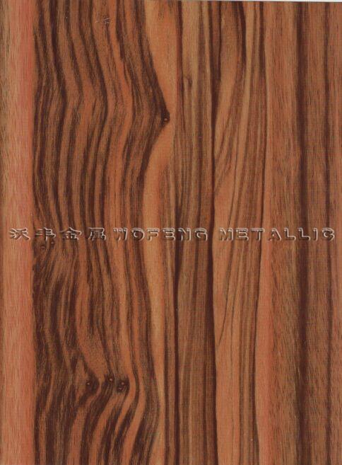 非洲黑檀木木纹彩涂板平面图