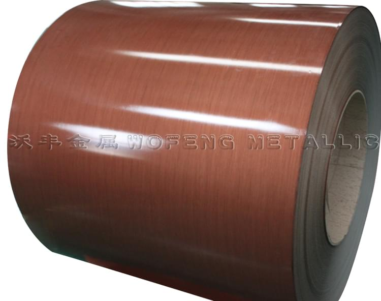 拉丝彩涂钢板WF-LS103