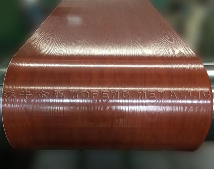 覆膜彩钢板WF-WPVC07