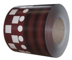 印花彩钢板WF-WOODFGY0401