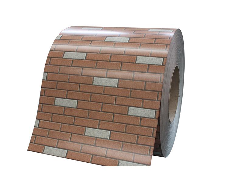 砖纹彩涂钢板WF-BRICK07