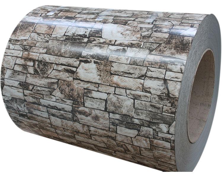砖纹彩涂钢板WF-BRICK0402