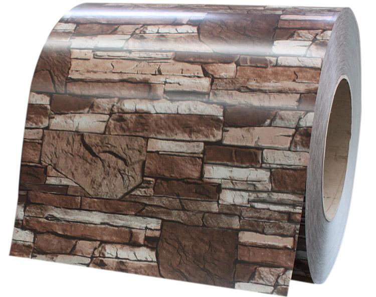 砖纹彩涂钢板WF-BRICK08