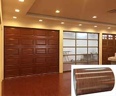 木纹钢板门